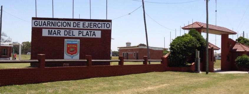 et af de militær områder vores instruktør besøgte i Argentina